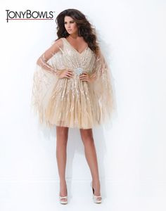 Prom Dress by Tony Bowls Shorts style TS11481