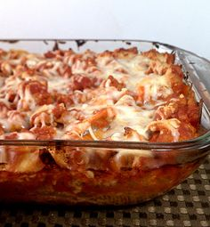 Four Cheese and Sausage stuffed shells. --- this was amazing! The only changes I made were doubling the meat and mixing together two 12 oz of different sauces just for more flavor. Super delicious, and we had tons of leftovers!