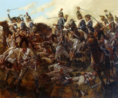 Charge of Kellermann that routed the Austrian grenadiers