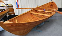 A new yoal built by Ian Best. Yoals are a type of fishing boat native to the Shetland Islands, with small differences between Fair Isles and Ness yoals. Fair Isle retained the true square sail until the end of professional fishing with sail an oars. Both are astonishingly beautiful and seaworthy wooden boats.