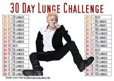 30 Days Lunge Workout Plan