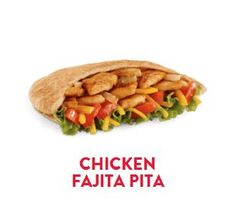 Chicken Fajita Pita from Jack in the Box