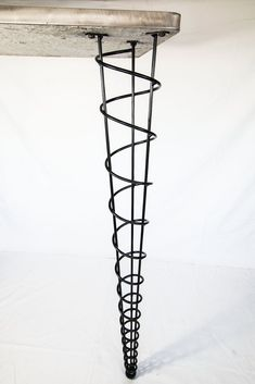 """spiral table legs 42"""""""