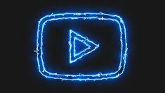 Iphone Wallpaper Logo, Neon Wallpaper, Iphone Wallpaper Tumblr Aesthetic, Snapchat Logo, Snapchat Icon, Youtube Logo, Blue Aesthetic Pastel, Neon Aesthetic, Electric Icon