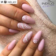 """@nails_champions Instagram """"@nailz_ann with  #nails #nailart #indigonails #nailpromote #nailporn #nailpolish #nails2inspire…"""""""