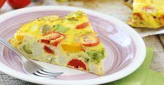 Recette de Flan de légumes allégé aux légumes et son d'avoine spécial coupe-faim. Facile et rapide à réaliser, goûteuse et diététique.