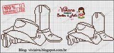 Viviane Pontos e Art's- chapéu e bota