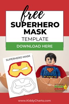 Are you looking for some free superhero mask templates? Check out our free printable superhero mask templates! Click through to post and make sure you Pin this for later! #printables #superhero #superheroplay #superheromask #freeprintables #kidsactivities #activities #kidsplay #superheroes #freebiesforkids Science Activities, Activities For Kids, Superhero Mask Template, Creative Thinking Skills, Superhero Gifts, Superhero Characters, Emotional Development, Negative Emotions, Child Love