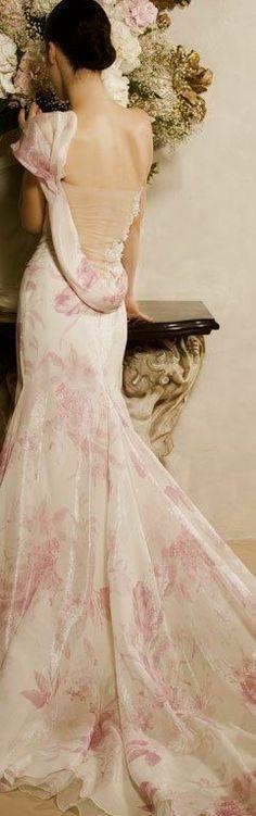 Elisabeth B Wedding Dress Spring 2013 6 Costura Fashion, Moda Floral, Chiffon, Organza, Creation Couture, Floral Fashion, Beautiful Gowns, Simply Beautiful, Beautiful Things