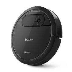 ECOVACS DEEBOT Robotic Vacuum Cleaner, Tangle-free Suction for Pet Hair, Hard Floor - Cleaning Robot - The innovative seamlessly integrates high technology, beautiful appearance and excellent performance into a premium cleaning experience. Houston, Pet Vacuum, Dancehall Reggae, Hard Floor, Water Tank, Tile Floor, Vacuums, Floor Cleaning, Vacuum Cleaners
