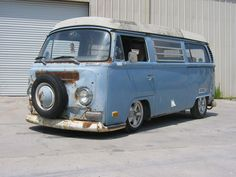 Early Bay Camper