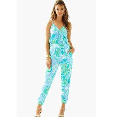 ISO!! Lily Pulitzer Melba jumpsuit In search of a lily Pulitzer Melba jumpsuit! Size medium! Lilly Pulitzer Other