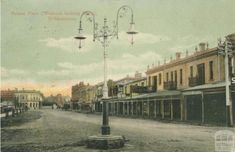 Old photos of Melbourne and suburbs Williamstown Victoria, Williamstown Melbourne, Melbourne Suburbs, Melbourne Victoria, Historical Images, Melbourne Australia, Historic Homes, Back In The Day, Old World