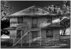 Abandoned Fort Ord Barracks