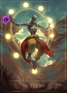 Zenyatta - The Sun XIX, Mohammed Al Dabi on ArtStation at https://www.artstation.com/artwork/zn01d