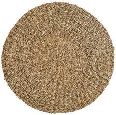 Platzdeckchen, gewebt Gras, Home Decor, Products, Natural Colors, Natural Materials, Cottage Chic, Rustic, Simple, Dekoration