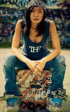 girl skater: yam verzosa