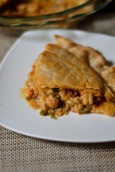 Louisiana Crawfish Pie Recipe - Coop Can Cook How To Cook Crawfish, Crawfish Pie, Crawfish Recipes, Louisiana Crawfish, Seafood Recipes, Appetizer Recipes, Cooking Recipes, Healthy Recipes, Crawfish Cornbread