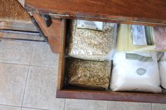 kitchen apothecary and reference books for making your own soap!