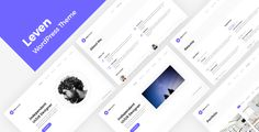 CV / Resume WordPress Theme Leven Resume / CV / vCard / Portfolio WordPress Theme — A premium tool to promote yourself. Ready to look stunning on any device – from a widescreen monitor to a mobile . Creative Cv, Creative Portfolio, Personal Portfolio, Online Cv, Online Resume, Best Resume, Resume Cv, First Web Page, V Card