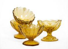 Amber Sorbet Cups Rental Decorating, Wedding Rentals, Sorbet, Amber, Custom Design, Cups, Vintage, Mugs, Wedding Hire