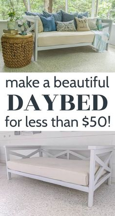 Diy Home Furniture, Simple Furniture, Diy Outdoor Furniture, Diy Furniture Projects, Diy Wood Projects, Furniture Makeover, Home Projects, Diy Home Decor, Diy Bedroom Projects