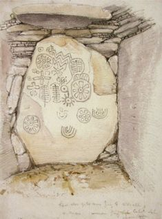 Megalithic art at Loughcrew Co Meath | engraved neolithic art | Sacred Island Guided Tours