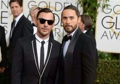 Jared & Shannon at the Golden Globes 2014