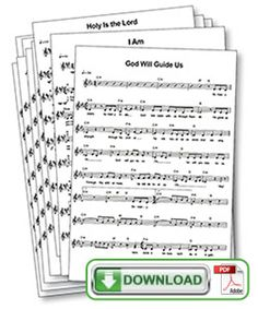 Wilderness Escape Celebration Vocal Lead Sheets with Chords (PDF download)