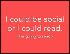 I'm going to read