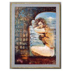 La Fille de la Mer - Elenart - Artiste Peintre - Décoration d'intérieur