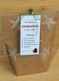 15 Minuten Weihnacht in der Tüte, Stampin Up, Geschenke