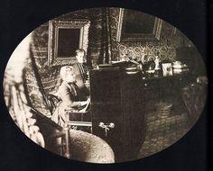BARONESA DE MURITIBA E PRINCESA ISABEL EM PETRÓPOLIS 1887