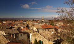 Vue sur les toits de Chabeuil