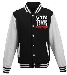 Boys Girls Crossfit Time MADAFAKKAS Teen Youth Sweater Black