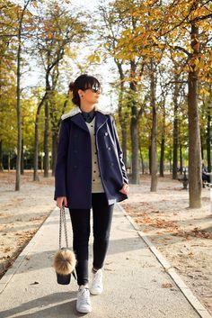 Muitas camadas em Paris | Danielle Noce