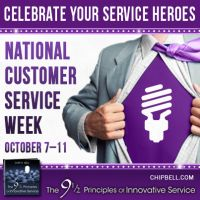 Help me celebrate Service Heroes! Honor your favorite service provider during Customer Service Week by sharing the story of your service enc...#InnovativeService