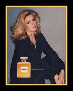 1978 Chanel No. 5 perfume print ad Catherine by catchingcanaries, $9.00