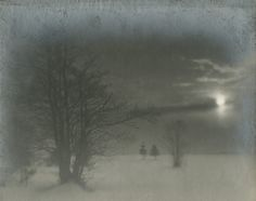 Leonid Shokin, Winter Twilight, 1939