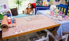 Home & Family - Tips & Products - Jessie Jane's DIY Scrabble Coasters & Boardgame, Placemat | Hallmark Channel  6/20