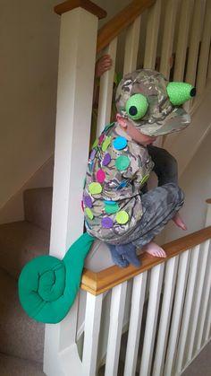 Chameleon costume for Jude