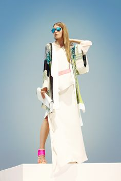 BCBG Max Azria - Resort 2013 - i just wanna go somewhere like egypt and wear this w/ sandals