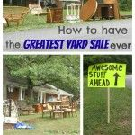 How to have a hugely successful yard sale