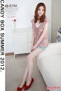 Choose Quality South Korea Blouse For. Korean Blouse, South Korea, Women's Clothing, Dressing, Romantic, Fashion Outfits, Clothes For Women, Women's Clothes, Outerwear Women