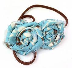 fabric flower hairbands--how to   b.cheniful