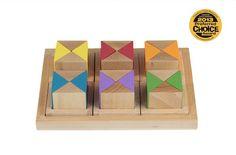 colorful wooden toys | brinca dada