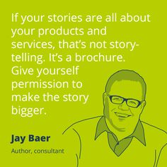 PR quote by Jay Baer.