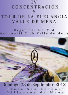 IV Concentración y Tour de la Elegancia. Valle de Mena. Merindades