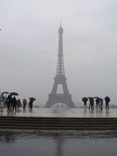 A Rainy Day in Paris is better than a sunny day anywhere else...