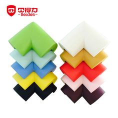10 pcs/lot Solid Edge & Corner Guards Child Safety Products Baby Crash Bar Glass Coffee Table Child Protection Strip 10-010